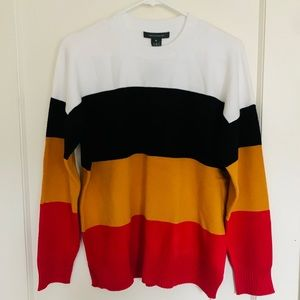 French Connection! Tiered color sweater!